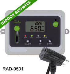 co2 grow room controller