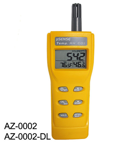 pSense High Accuracy (±30 ppm) Portable CO2 Meter