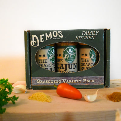 Demos Family Kitchen Seasoning Trio