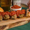 Meatballs with Homemade Marinara Sauce