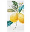 Fresh Lemons Printed Flour Sack Kitchen Towel