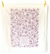For The Beauty Of The Earth Hymn Tea Towel