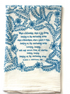 Leaning on the Everlasting Arms Hymn Tea Towel