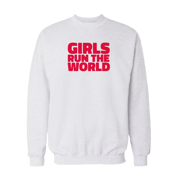 Girls Run the World Sweatshirt - White