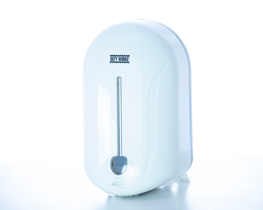 DW-110-A Blanco <br> Dispensador sanitizante líquido a base de alcohol (blanco)