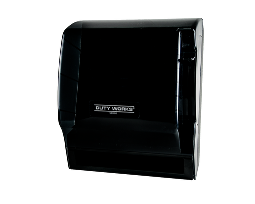 DW-393-N <br> Dispensador manual de toalla en rollo Humo con negro