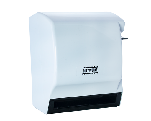 DW-393 <br> Dispensador manual de toalla en rollo Blanco con gris