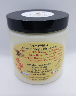 Lemon Honey Body Cream