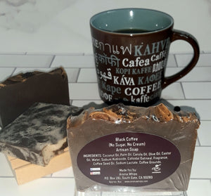 Black Coffee Artisan Soap