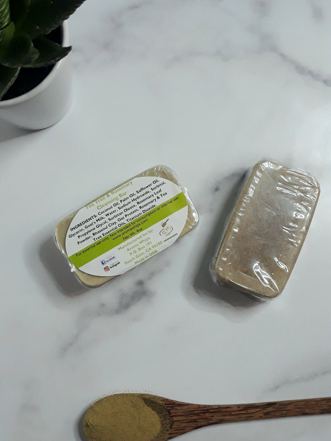 Tea Tree & Rosemary Cleansing Bar