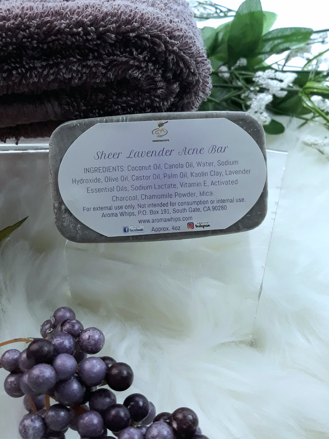 Sheer Lavender Acne Bar