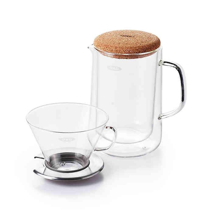 OXO glass pour over kit