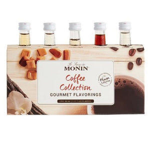 Monin Coffee Collection Syrups 5 Pack