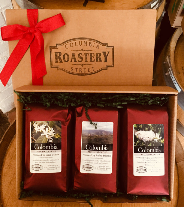 Colombian Micro Lot 1-3 Gift Set