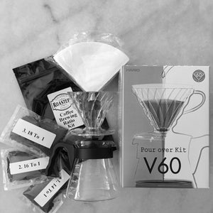 V60 Coffee Brewing Class - Ratios