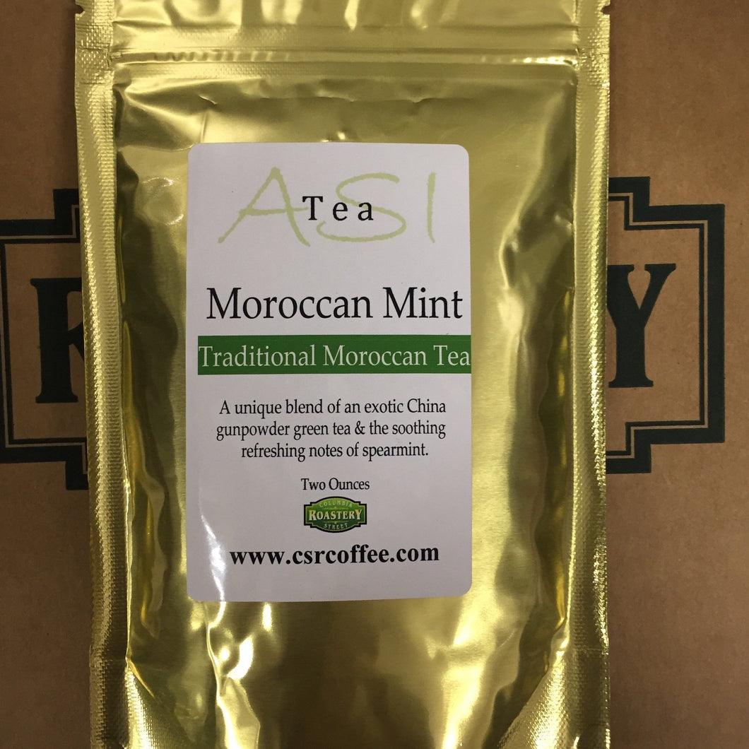Hot Tea - Green - Moroccan Mint