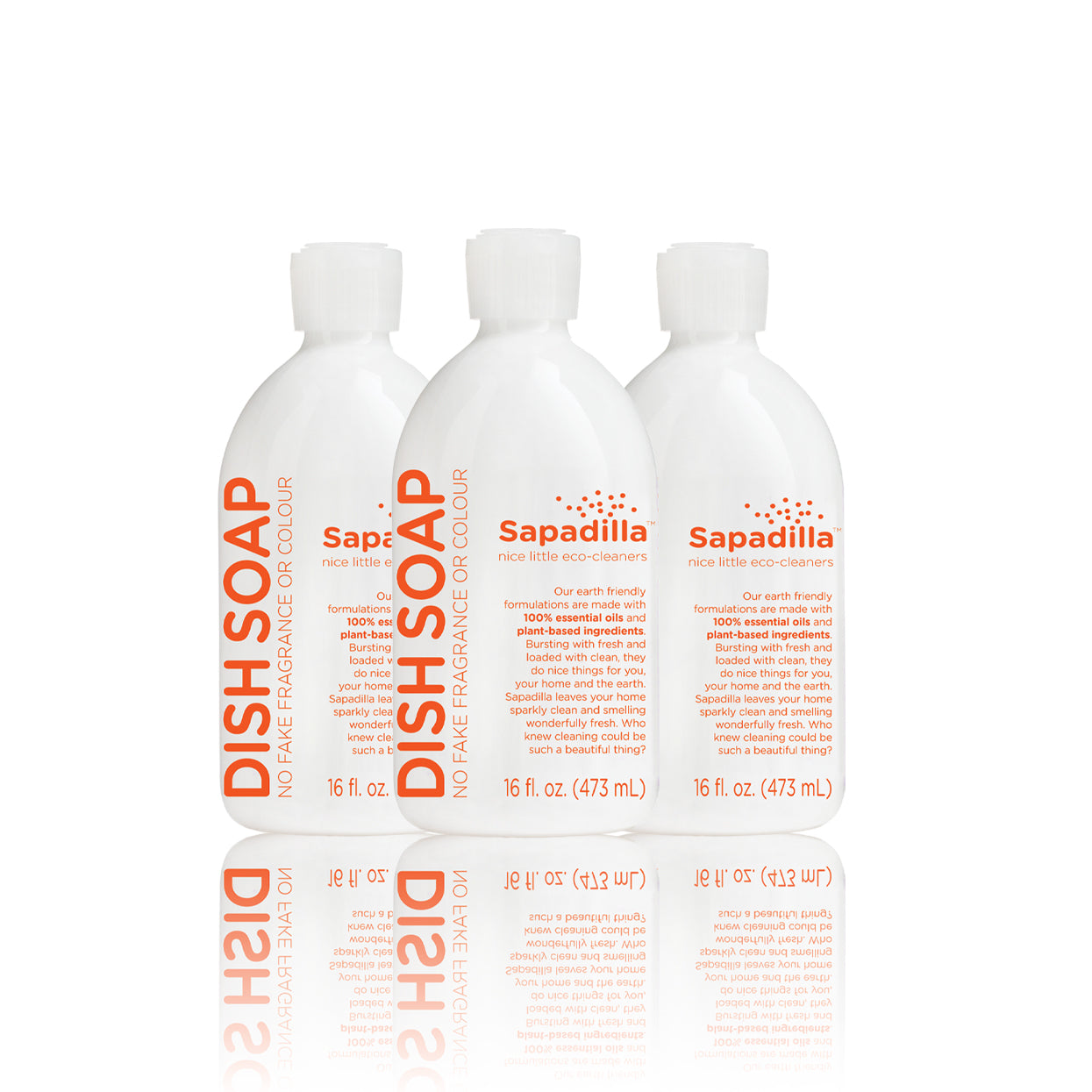 Sapadilla Grapefruit + Bergamot DISH SOAP 3 PACK - OUT OF STOCK