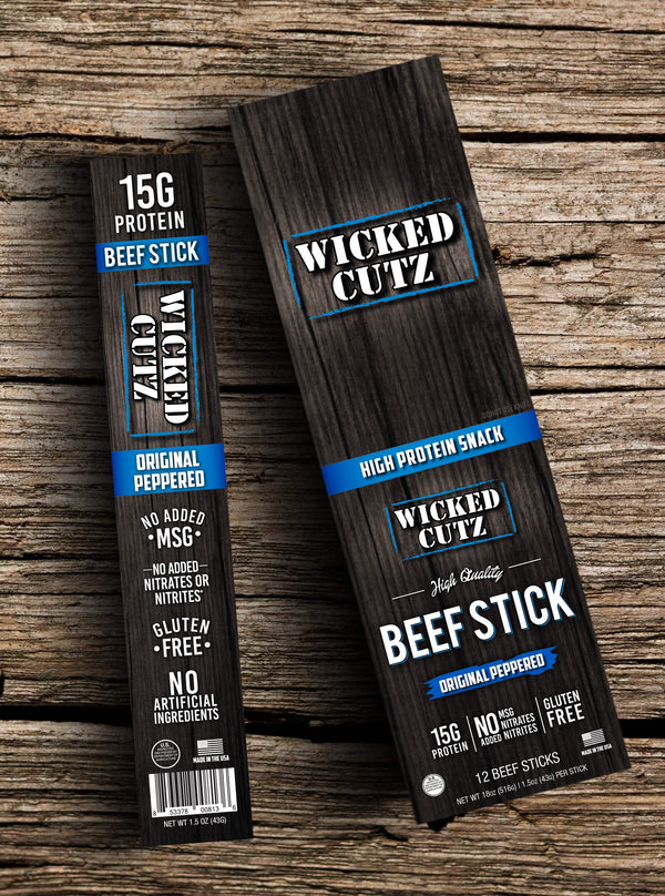 BEEF STICK WICKED PACK