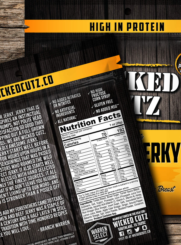 TURKEY JERKY PACK