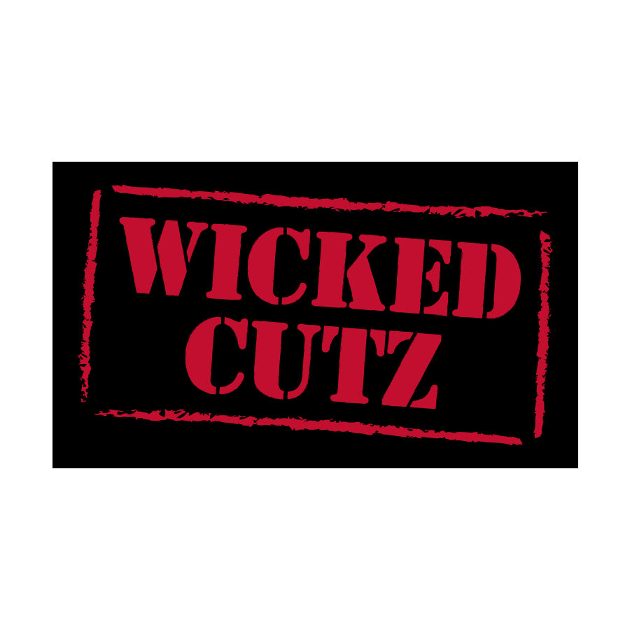 Wicked Cutz Sticker