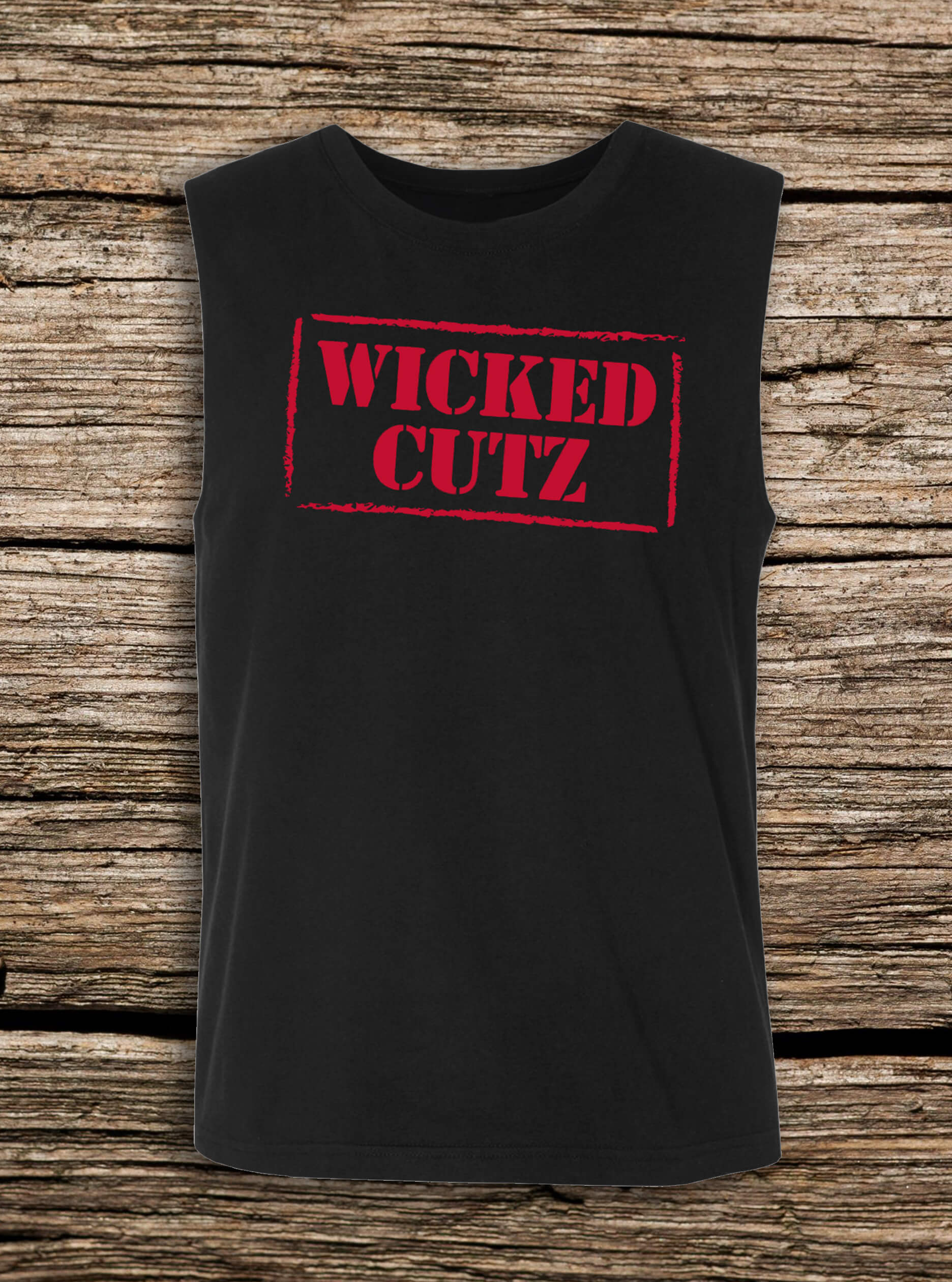 Wicked Cutz Sleeveless Tee