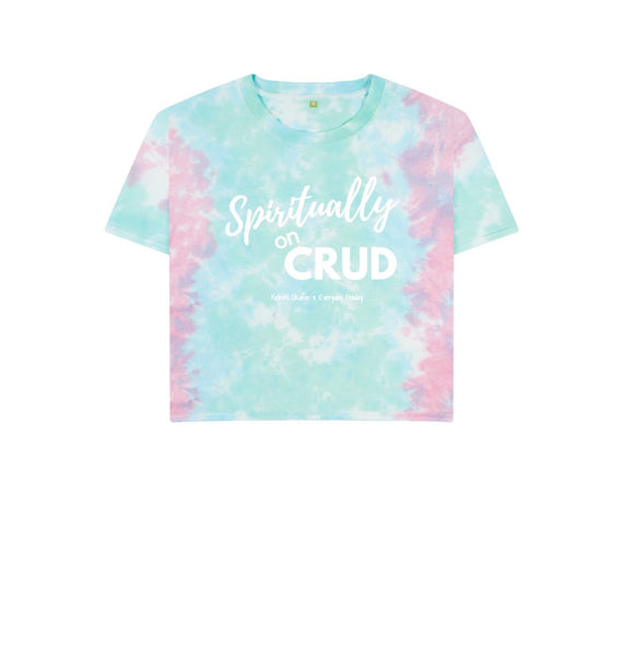 Pastel Tie Dye Boxy Tee | Spiritually on Crud