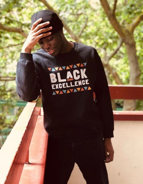 Unisex Sweatshirt | Black Excellence