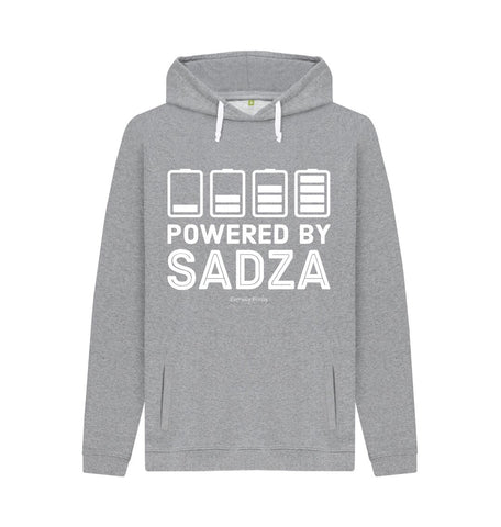 Light Heather Unisex Hoodie | Powered By Sadza