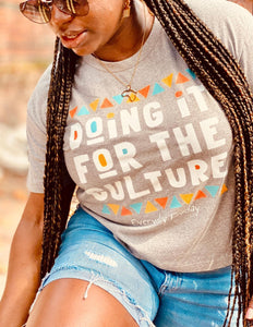 Boxy Tee | Doing it for the culture