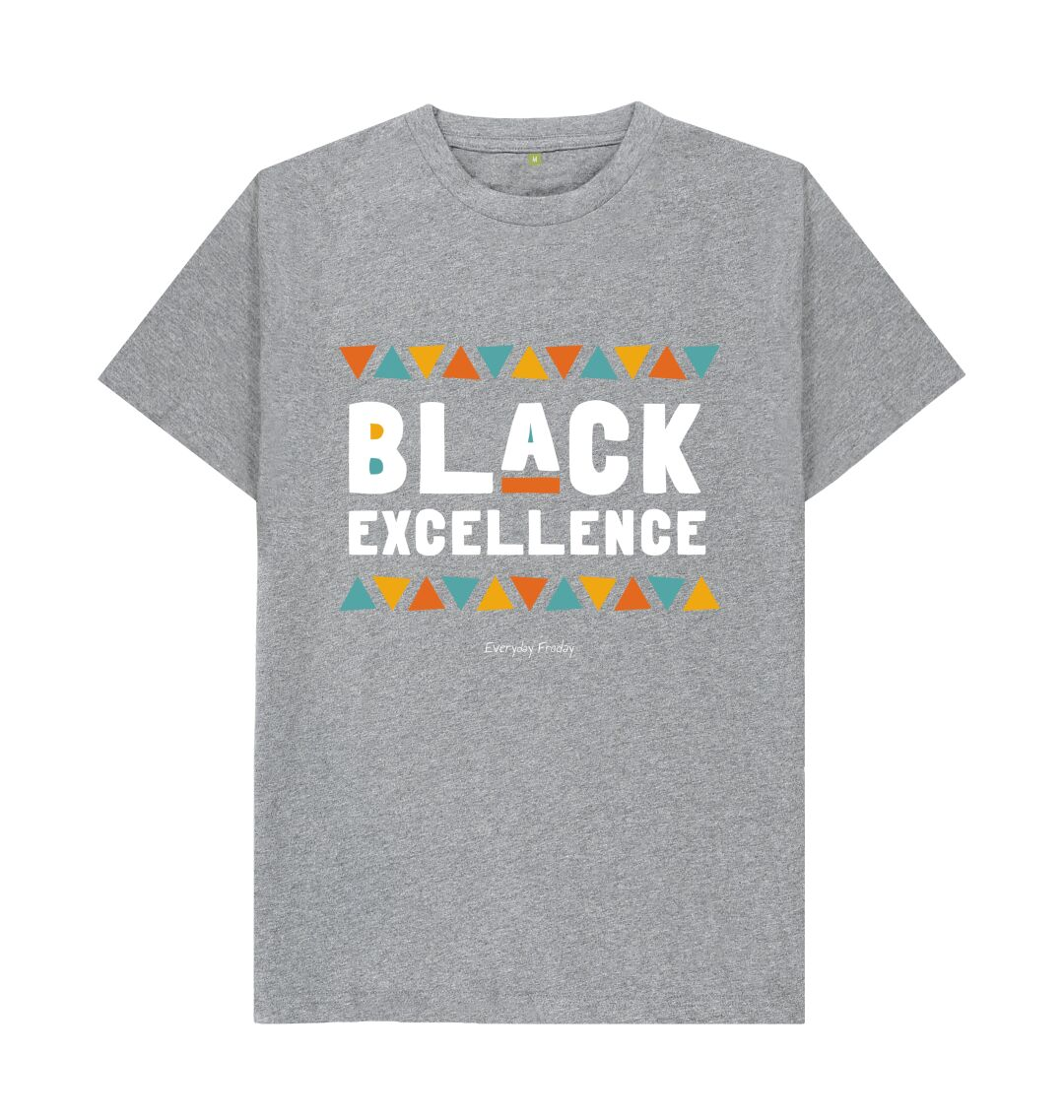 Athletic Grey Unisex Tee | Black Excellence