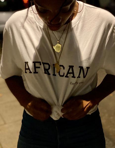 Unisex Tee | African (White)