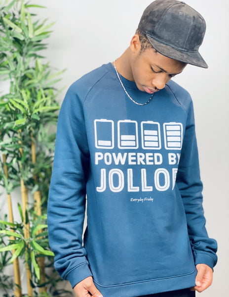 Unisex Sweatshirt | Powered By Jollof