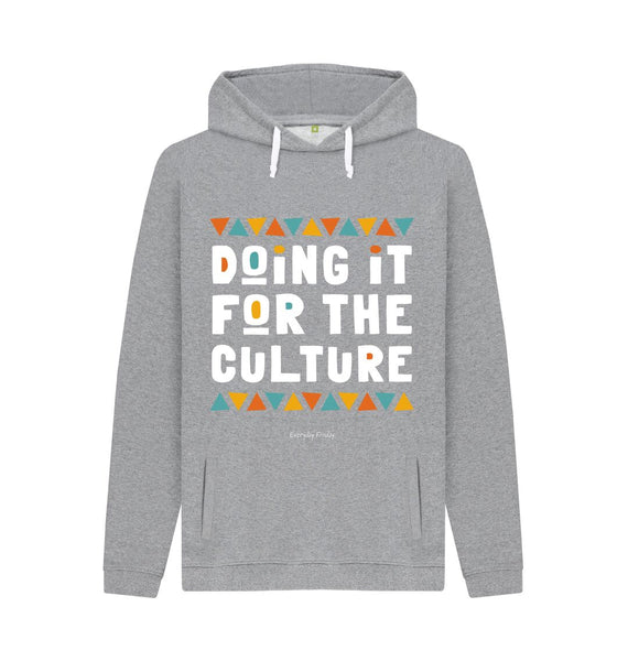 Light Heather Unisex Hoodie | Doing it for the culture