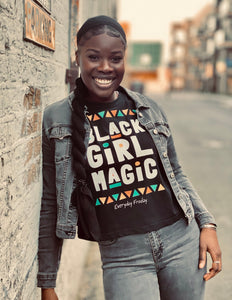 Boxy Tee | Black Girl Magic