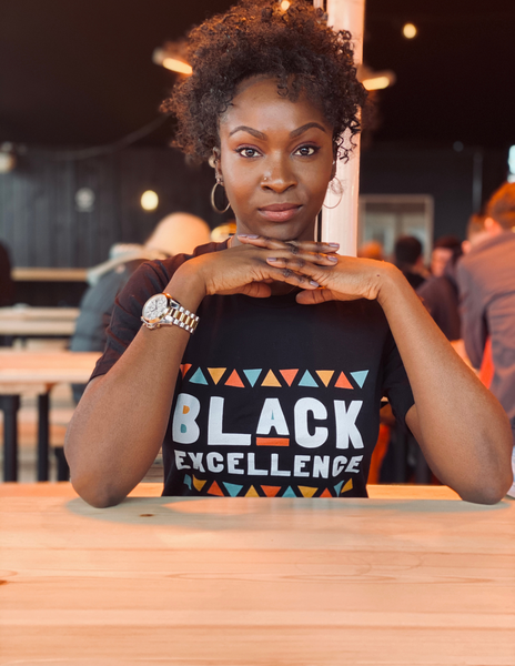Unisex Tee | Black Excellence (Colour)
