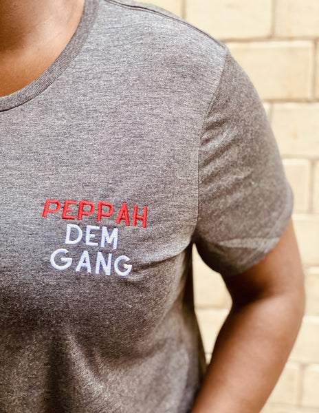 Crop Tee | Peppah Dem Gang