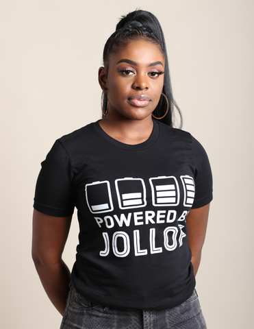 Unisex Tee | Powered By Jollof