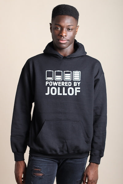 Unisex Hoodie | Powered By Jollof