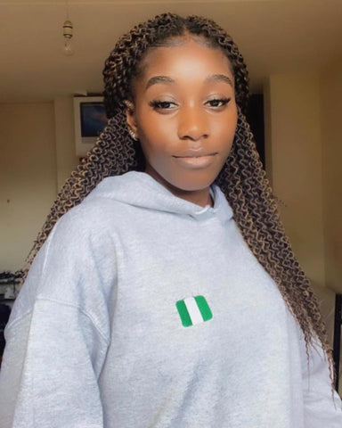 Unisex Hoodie  | Rep your flag - Nigeria 🇳🇬 [LIMITED EDITION]
