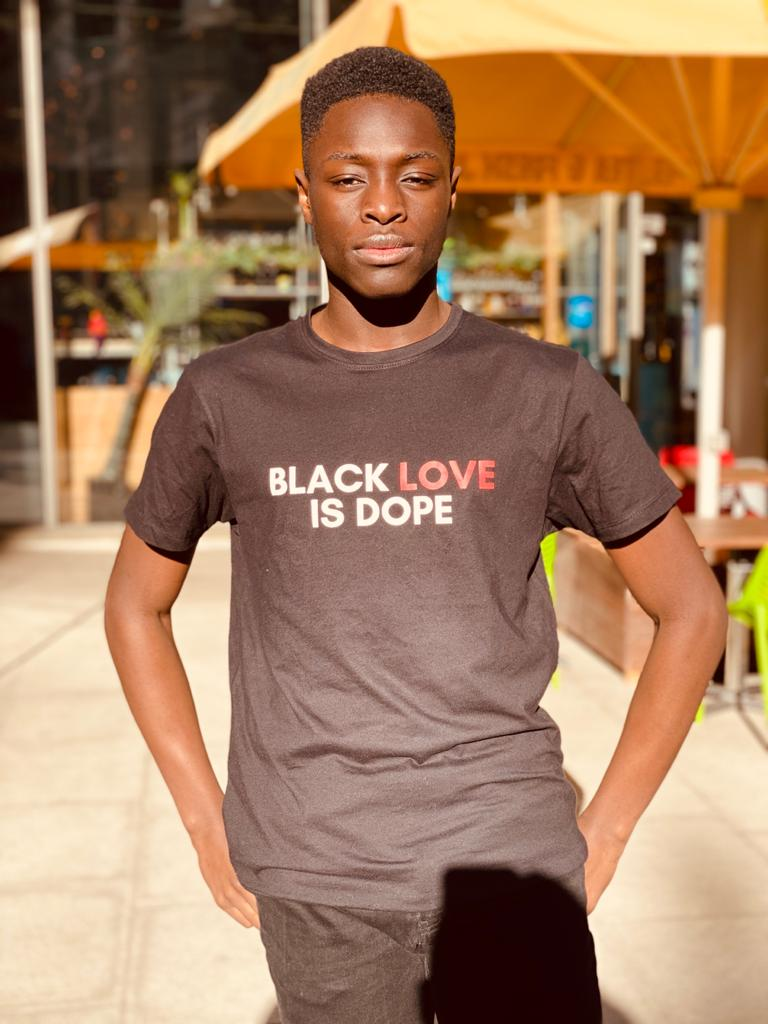 Black Love is Dope Tee in Black