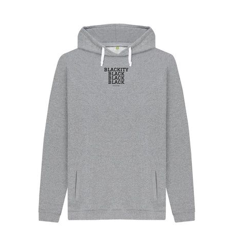 Light Heather Unisex Hoodie | Blackity (Print)