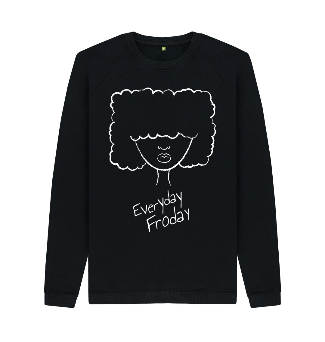 Black Unisex Sweatshirt | Froday Girl