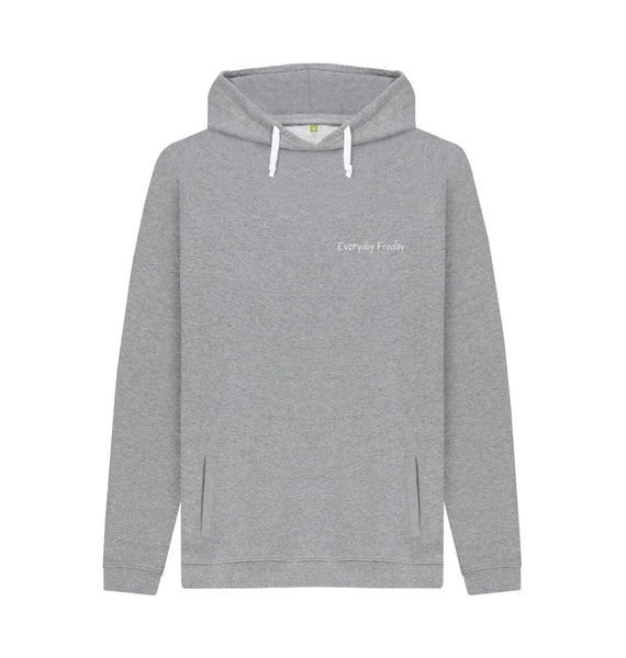 Light Heather Unisex Hoodie | Everyday Froday Classic Small Logo
