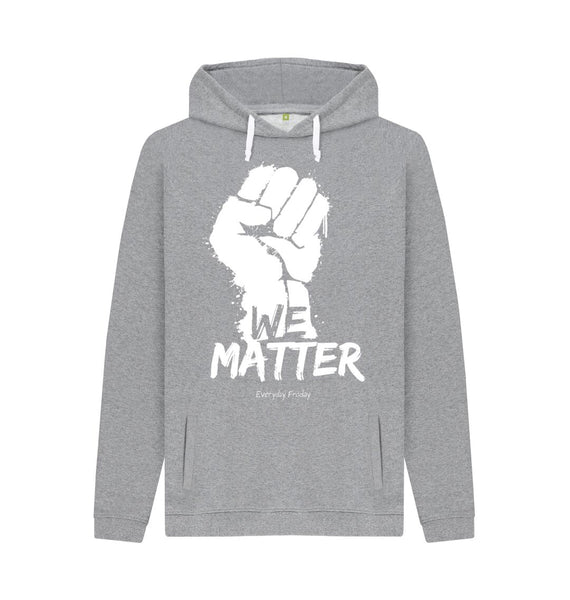 Light Heather Unisex Hoodie | We Matter