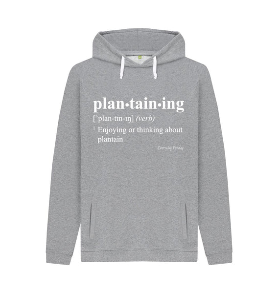 Light Heather Unisex Hoodie | Plantaining