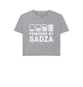 Athletic Grey Unisex Boxy | Powered By Sadza