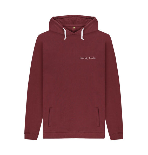 Red Wine Unisex Hoodie | Everyday Froday Classic Small Logo