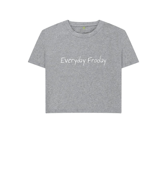 Athletic Grey Unisex Boxy | Everyday Froday Classic