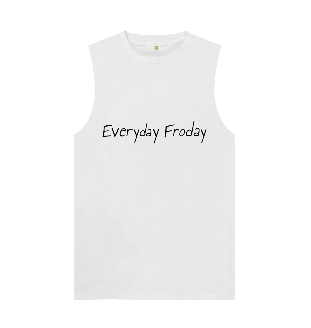 White Unisex Vest | Everyday Froday | White
