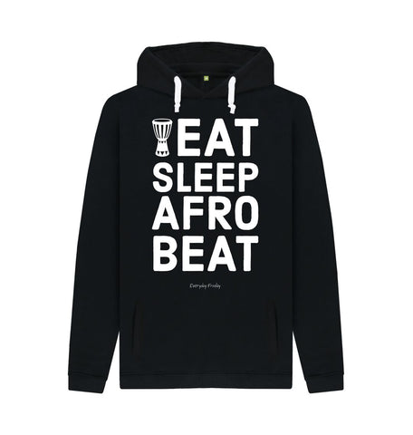 Black Unisex Hoodie | Eat Sleep Afrobeat